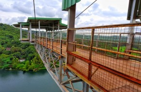 Bungy Jump Over The Majestic Mayem Lake in North Goa