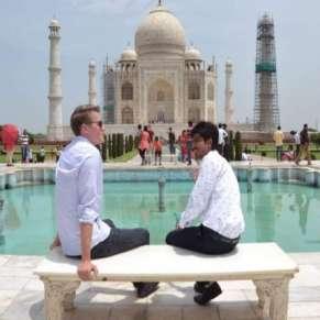 Taj Mahal exploring tour