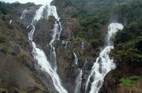 Day Tour Dudhsagar Waterfall from Goa