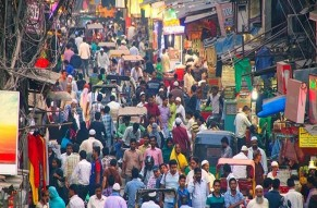 Walking Tour of Old Delhi includes One Meal and Rickshaw Ride