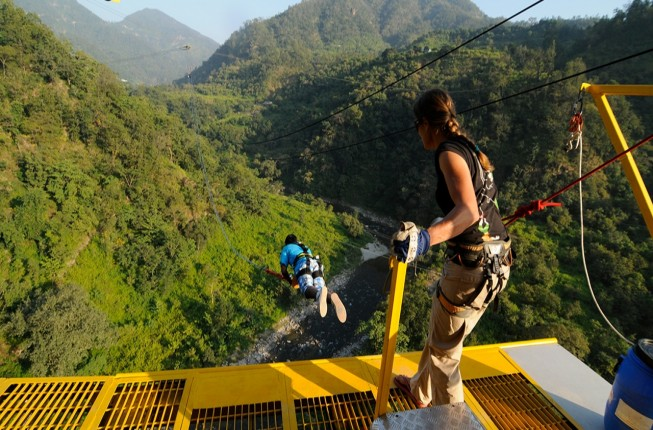 Enjoy The Thrill of India's Highest Giant Swing