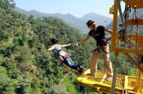 Jump from India's Highest Bungy Platform