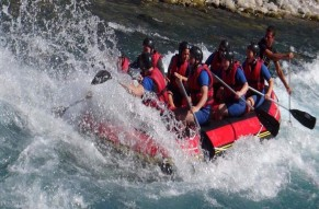 Kolad White Water Rafting