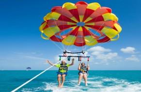 Para Sailing Activity From Bond Safari