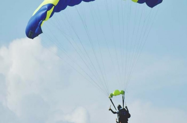 A Thrilling Experience of Paragliding in Jodhpur