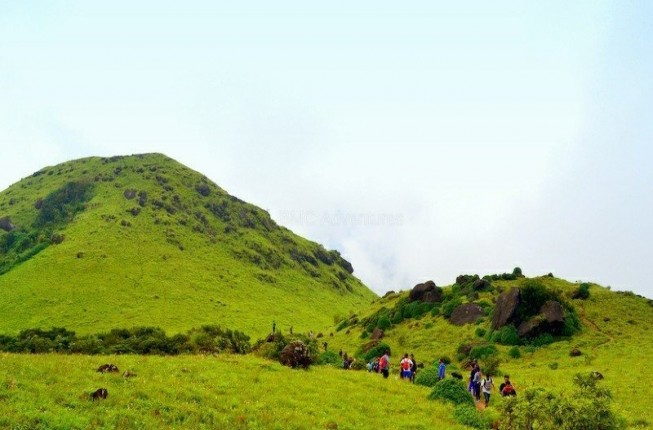 An amazing trekking activity at Coorg