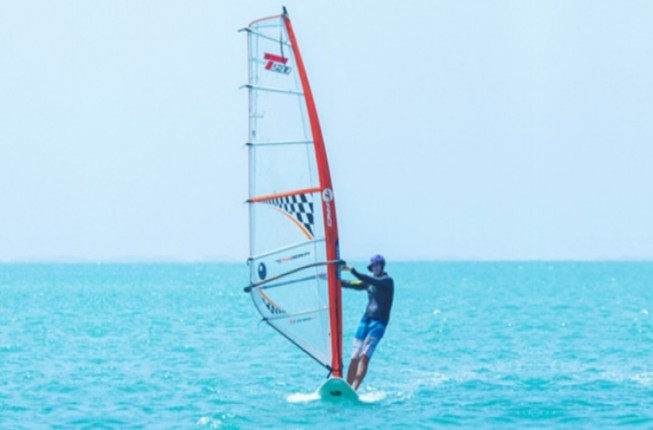 Experience Wind Surfing Activity At Rameswaram