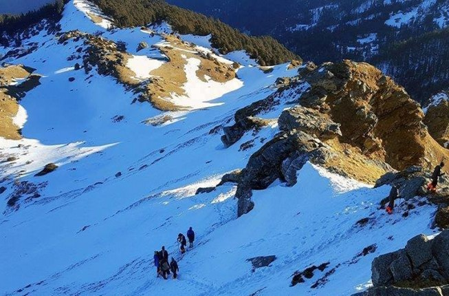 Amazing Experience of Trekking in Kedarkantha,Himalaya