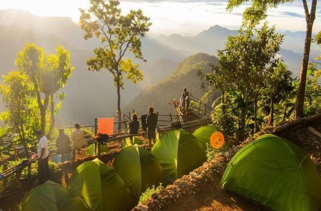 A rare experience of Trekking in Canopy Hills-Vattakanal
